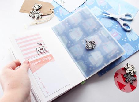 Day Nine | DIY Christmas Scrapbook | 12 days of Christmas crafts