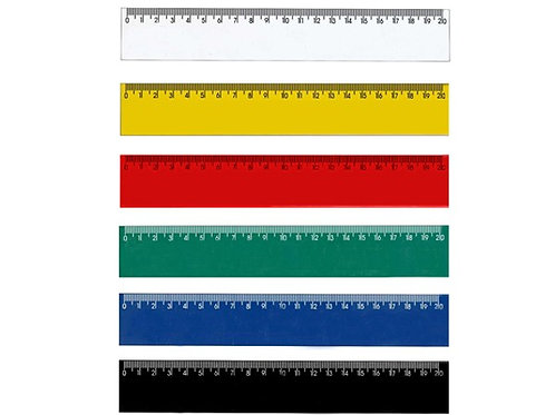 Cód.: 71R - Régua Rígida 20cm