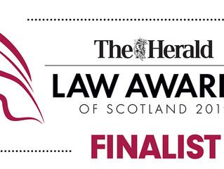 Law Awards of Scotland 2019 - Finalists