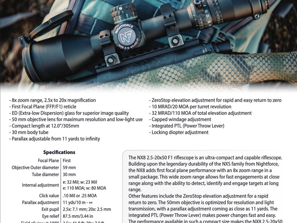 NX8 Riflescopes