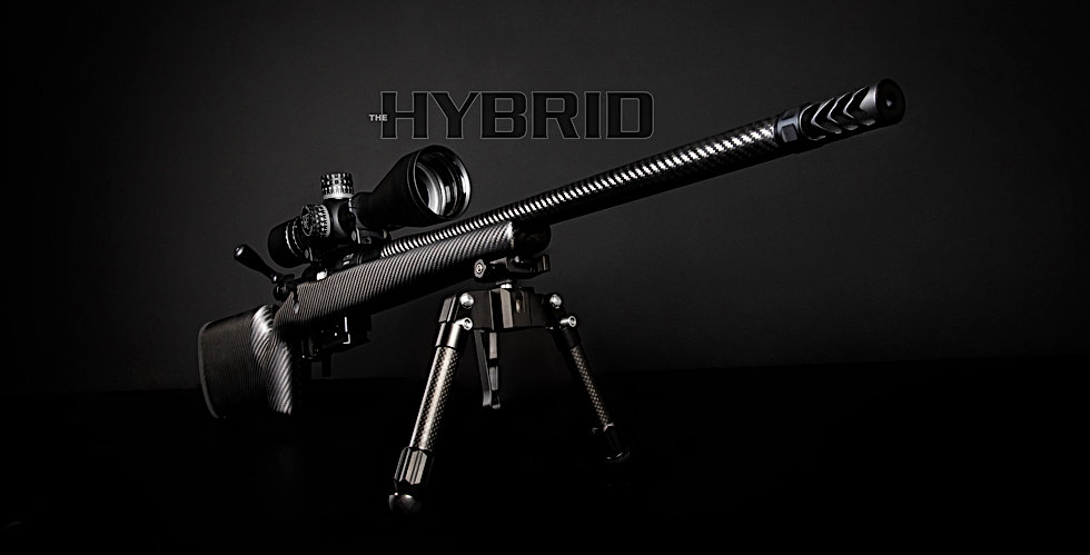The Hardy Hybrid rifle in all it's glory. For the ultimate in shooting experience.
