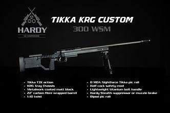 Hardy Rifle Custom Tikka