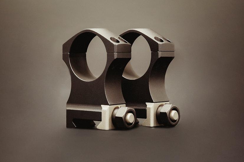 XTRM SCOPE RING SET - 1.375 X-High 30mm Ultralite, 4 screw