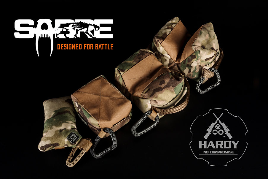 Rear Bags 2021 Hardy Rifle
