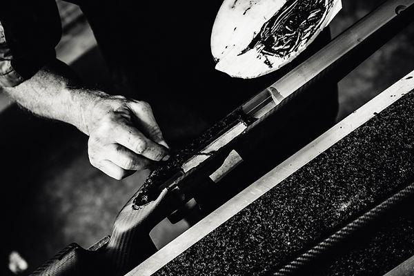 Stock Bedding Hardy Rifle