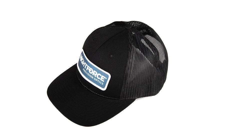 Nightforce Patch Hat - Black - LowPro Trucker