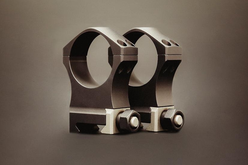 XTRM SCOPE RING SET - 1.375 X-High 34mm Ultralite, 4 screw
