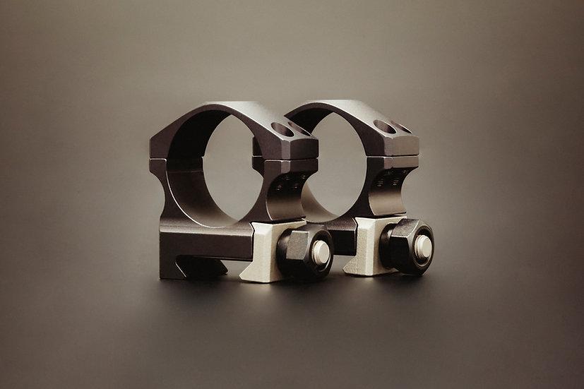 XTRM SCOPE RING SET - .885 Low 30mm Ultralite, 4 screw