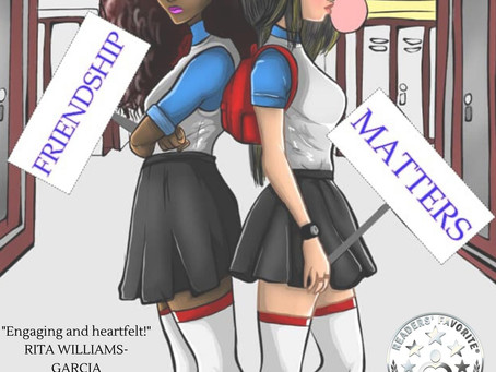 Our Friendship Matters Cover has been reveal. What's Next?