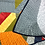 Thumbnail: square baby boy quilt