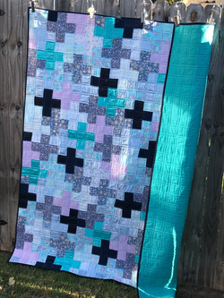 Quilt from women's pajamas