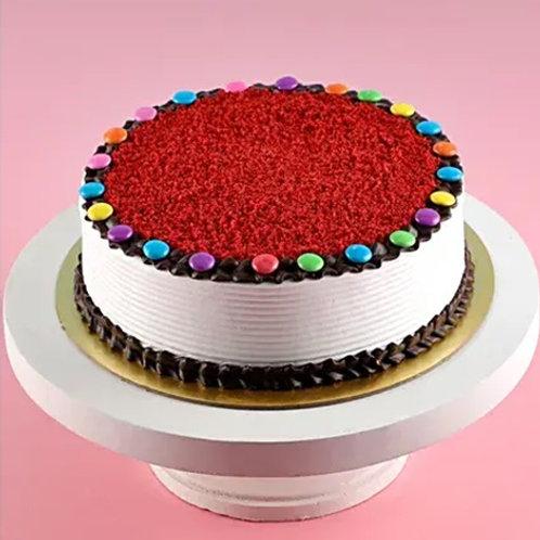 Red Velvet Gem Cake Half Kg