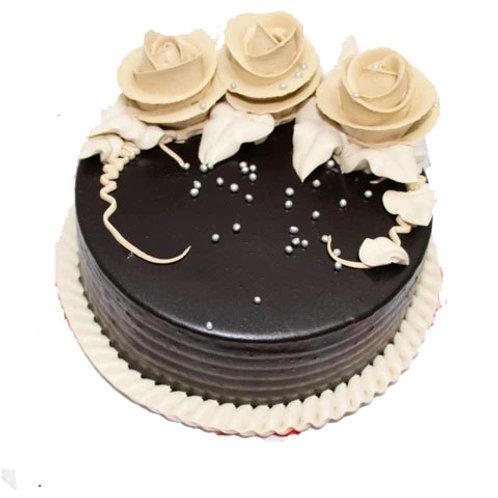 Rose Chocolate Cake Half Kg