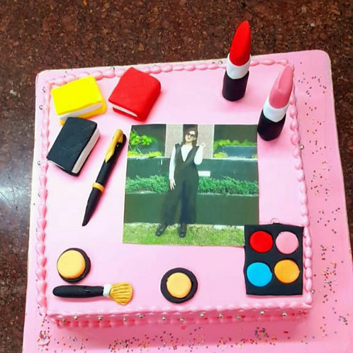 Designer Cake With 4 Flavours