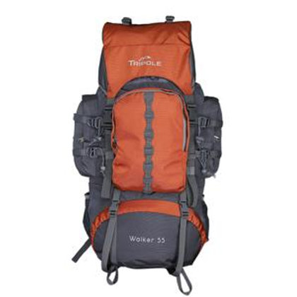 Tripole Walker 55 ltr Orange Grey
