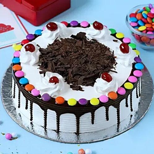 Blackforest Cake with Gems