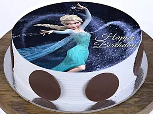 Frozen Theme Princess Elsa Cake 1 Kg
