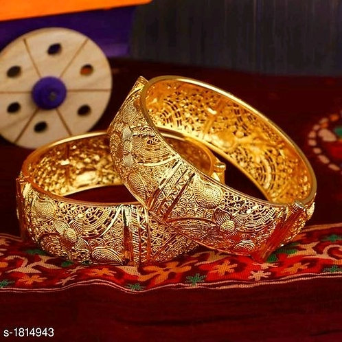 Traditional Royal Copper Bangles For Her