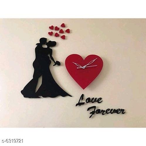 Beautiful Love Couple Wall Clock