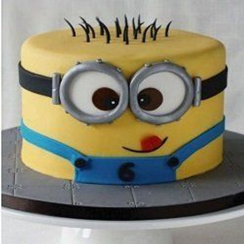 Minion Cake 1 Kg