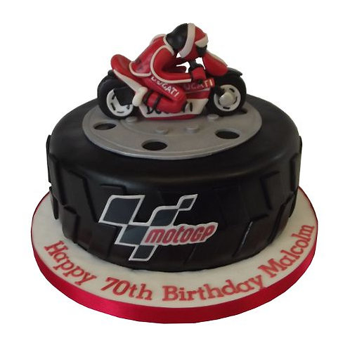 KTM Bike Design Cake 1 Kg