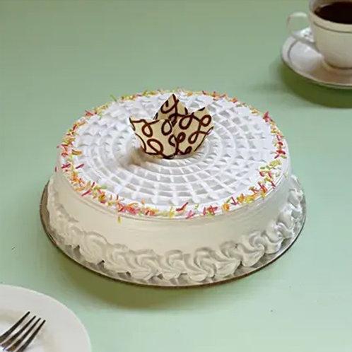 Designer Vanilla Cake Half Kg