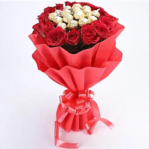 Elegant Rocher Bouquet