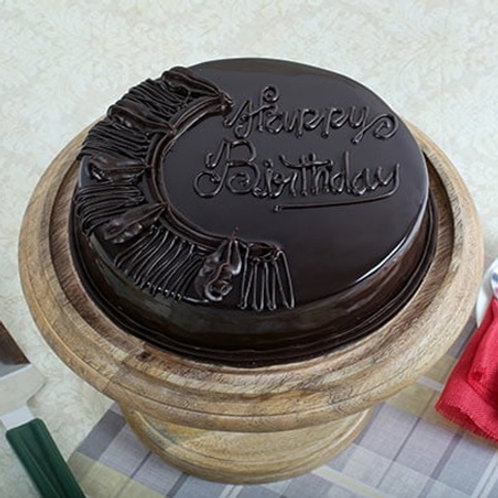 Dark Chocolate Cake Half Kg