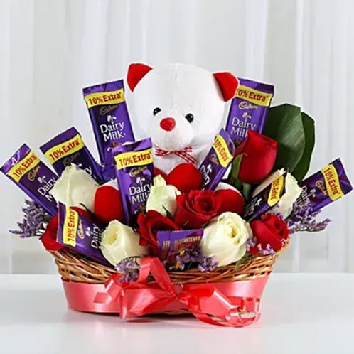 Special Surprise Basket of Love