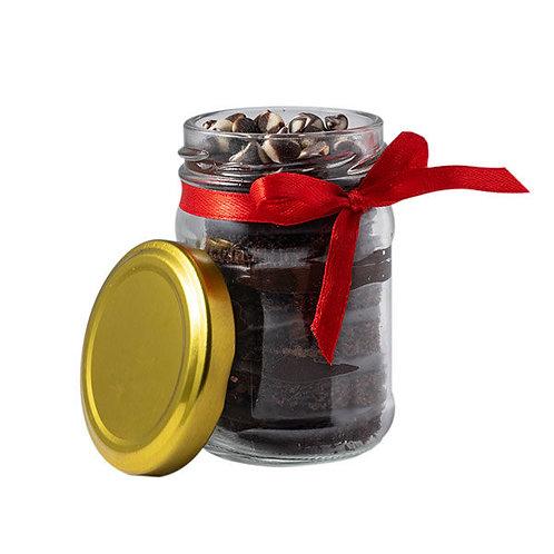Chocolate Truffle Jar Cake - Set of 2