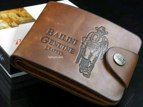 Trendy Men's Leatherette Wallet