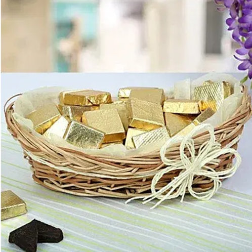 Handmade Chocolates Golden Treat