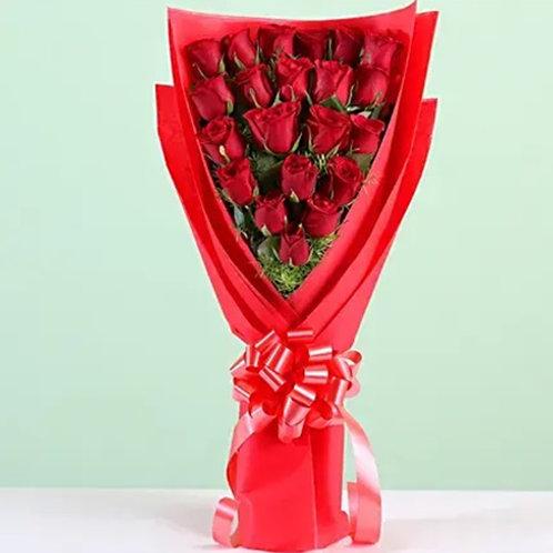 Elegant 21 Roses Bouquet