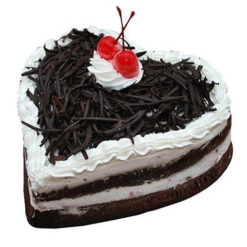 Heart Shape Chocolate Truffle Cake (1 Kg)