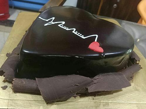 Heart Beats Chocolate Cake
