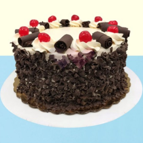 Crunchy Black Forest Cake