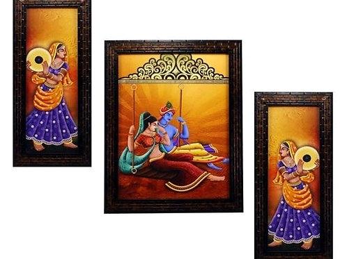 Traditional Illuminating Wall Painting