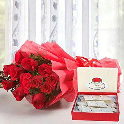 Red Roses and Kaju Katli