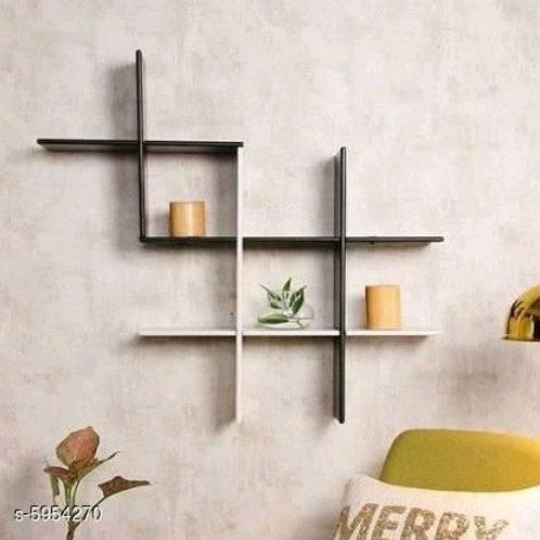 Beautiful Wall Mounted Shelf Rack