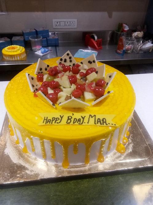 Fresh Mixed Fruit Cake