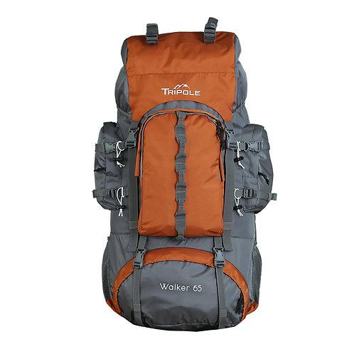 Tripole Walker 65 ltr Orange/Grey