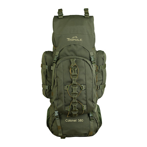 Tripole Colonel 80 Ltr Rucksack Army Green
