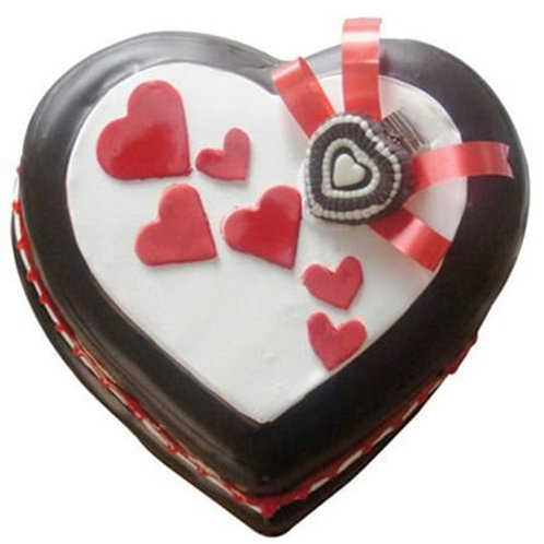 Special Heart Shape Cake