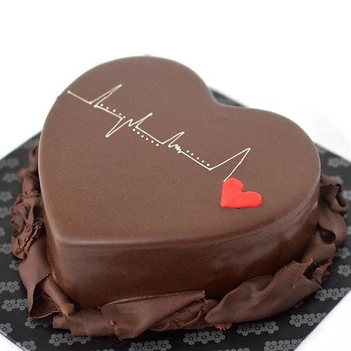 Heart Beats Chocolate Cake 1 Kg
