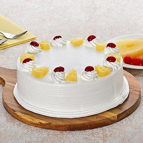 Fresh Pineapple Cake Half Kg
