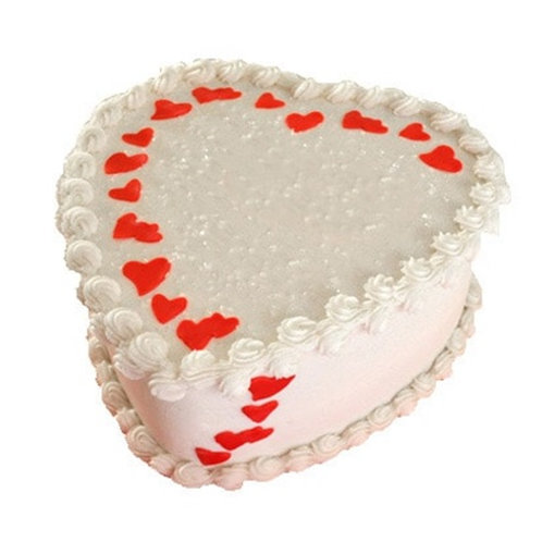 Special Heart Shape Cake