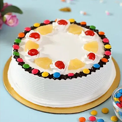 Pineapple Gems Cake