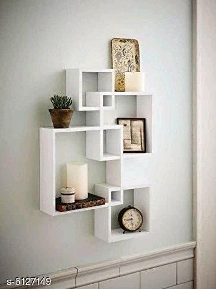Classy Wooden Wall Shelf