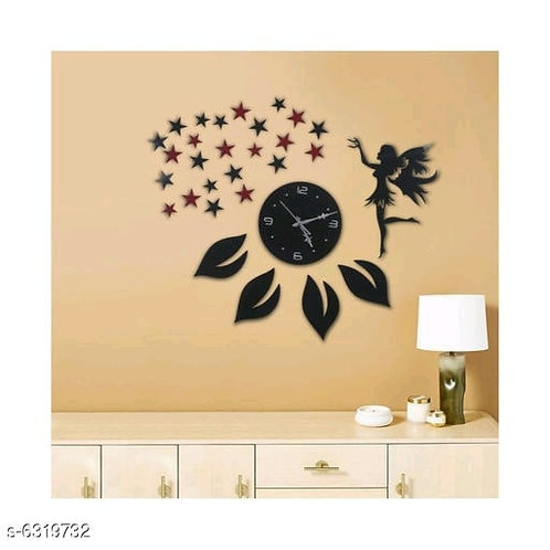 Nature Girl Wall Clock