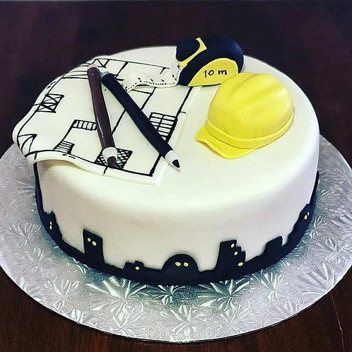 Civil Engineer Birthday Cake
